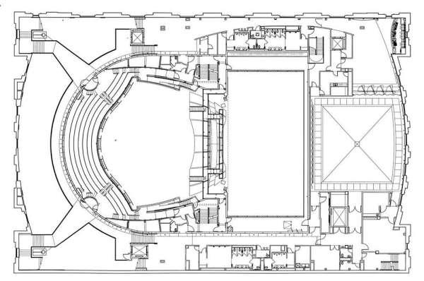 Balcony Level Floor Plan