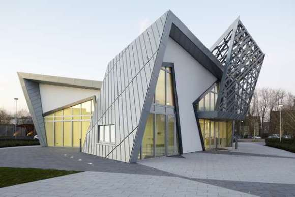 Villa Libeskind prototype exterior during day - 5 - (c) Frank Marburger