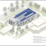 Diagram of University Building
