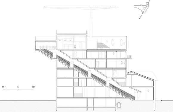 Coupe escalier