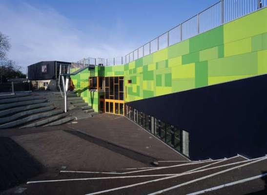 Bakkegaard School (Image Courtesy Adam Mørk)