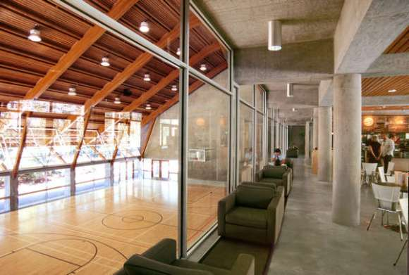 Interior View (Images Courtesy James Dow / Patkau Architects)