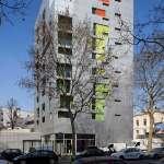 Exterior View (Images Courtesy Hervé Abbadie)