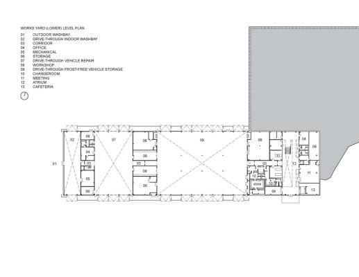 Lower Level Plan (Image Courtesy RDH Architects)