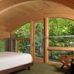 Interior loft looking to oaks (Image Courtesy George Cott)