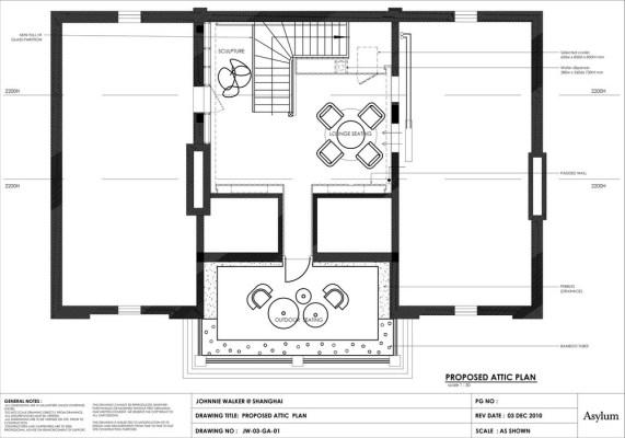 Attic Construction Plan
