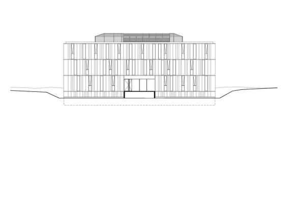 South Facade Plan