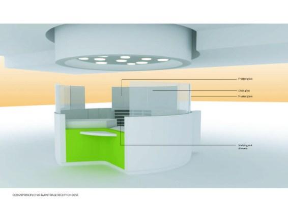 Triage desk design