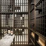 Wine room hidden within Koto wood paneled wall (Images Courtesy John Horner Photography)