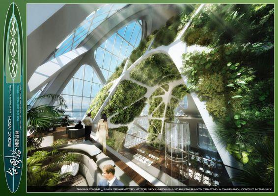 Inside View - The Top Sky Garden