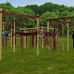 Swing pavilion