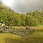 Bridge in vulnerable nature