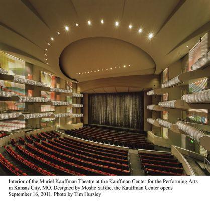 Kauffman Theatre interior