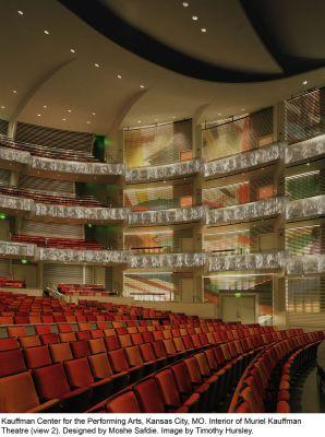 Interior of Muriel Kauffman Theatre (view 2)