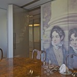 Meeting room with family heritage (Copyright  OMA by Philippe Ruault)