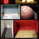Interior model shots