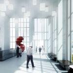 Lobby (Images Courtesy MVRDV)