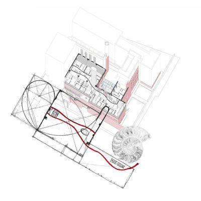 Axonometric drawing