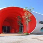 Bridgestone pavilion (Image Courtesy Luke Yeung)