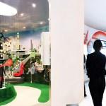 Bridgestone interior exhibit (Image Courtesy Designlab)