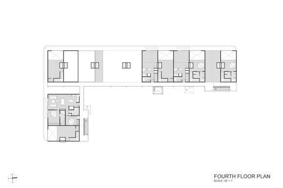 Block 19 Fourth Floor Plan