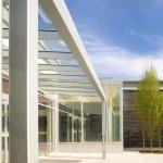 Entry canopy (Image Courtesy Nic Lehoux)