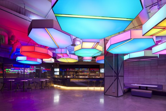4D Media Lighting Lounge (Image Courtesy Namgoong Sun)