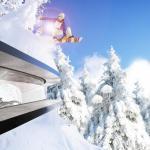 Snow jump for energy