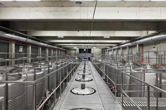 Fermentation interior view (Image Courtesy Alberto Plácido 2010)