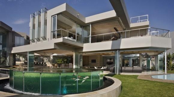 Penthouse for koi