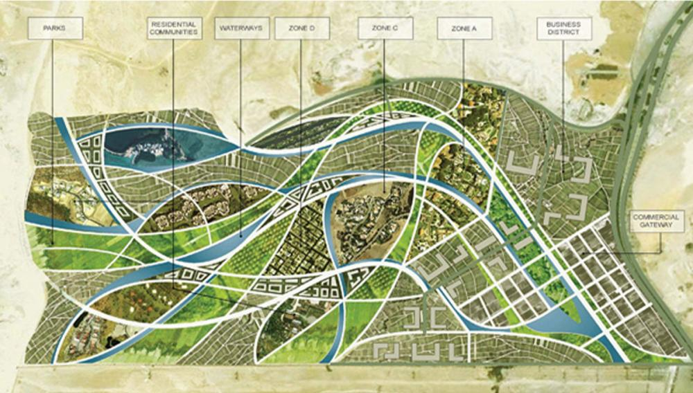 Pyramid Heights Masterplan In Cairo Egypt By Klingmann