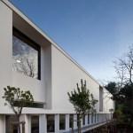 New building west elevation (Images Courtesy João Morgado)