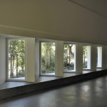 View of the windows of the new main atrium (Images Courtesy Laura Castro Caldas & Paulo Cintra)