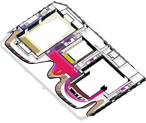 Ist floor diagram