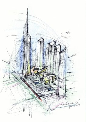 Masterplan Sketch (Image Courtesy SDL)