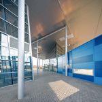 Entrance view (Image Courtesy Mario Romulic & Drazen Stojcic)