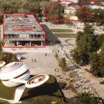 Vremena Goda Pavilion and Hexagon 1970s (Image courtesy of OMA)
