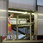 Entrance to the Pavilion (Image courtesy of OMA)