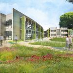 William McDonough Partners courtyard