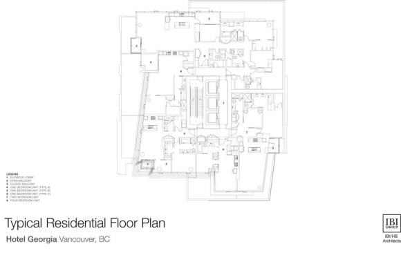 Typical Residential Floor Plan