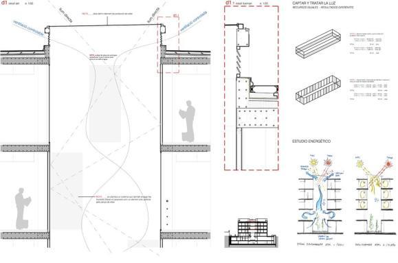 Atrium details