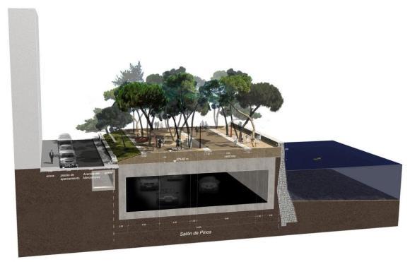 Section - ©West 8 urban design & landscape architecture