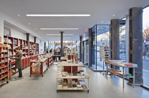Interior Store (Image Courtesy Paul Rivera)
