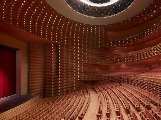 The opera theater - Image Courtesy Christian Gahl