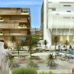 Hotel Overlooks Al Maktoum Plaza : Image Courtesy Klingmann Architects + Brand Consultants