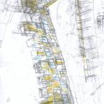 Sketch axo : Image Courtesy Peter Barber Architects