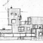 Sketch elev : Image Courtesy Peter Barber Architects