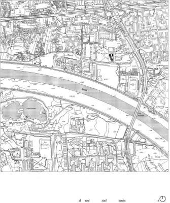 Site Plan : Image Courtesy Studio za arhitekturu (SZA)