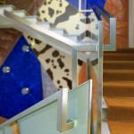 Staircase balustrade detail : Image Courtesy ANDREA ZANI