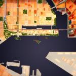 top-view of model : Image Courtesy Jvantspijker Urbanism Architecture